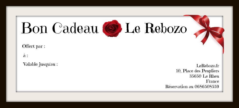 Bon Cadeau Le Rebozo