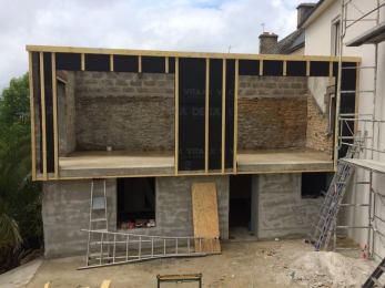 Le r cif du belon travaux de la maison acte 4 la for Finition exterieur