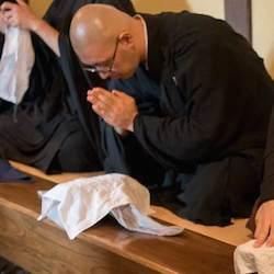 Le repas des moines zen