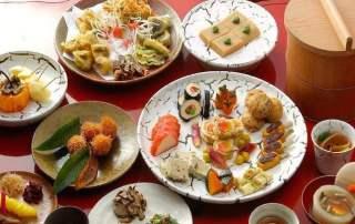 Un menu de la cuisine fucha ryori