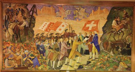 Entrée du Valais dans la Confédération