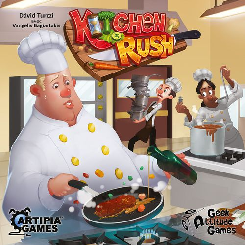 La boite de Kitchen Rush