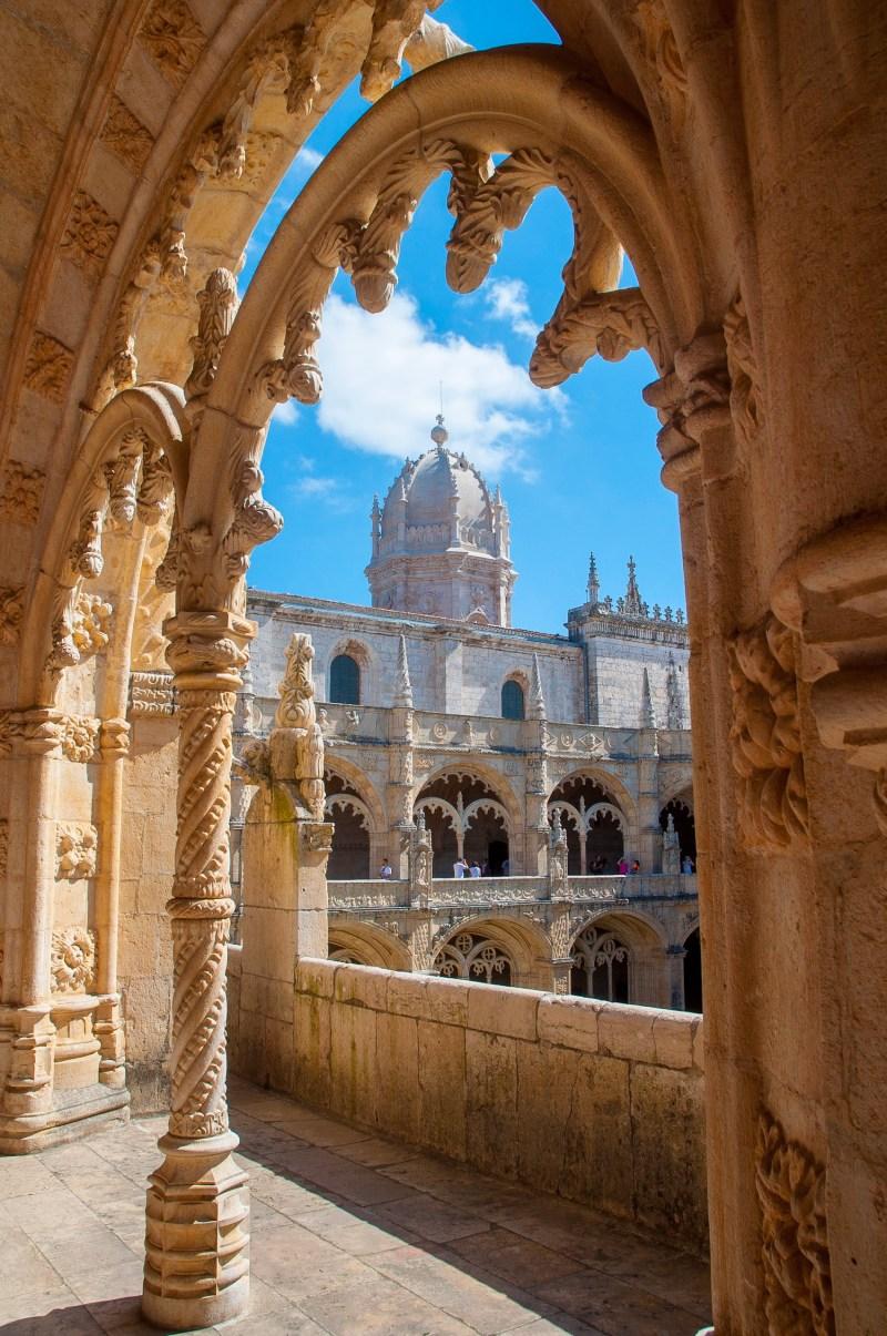 Mosteiro dos Jerónimos, Lissabon, Juli 2017