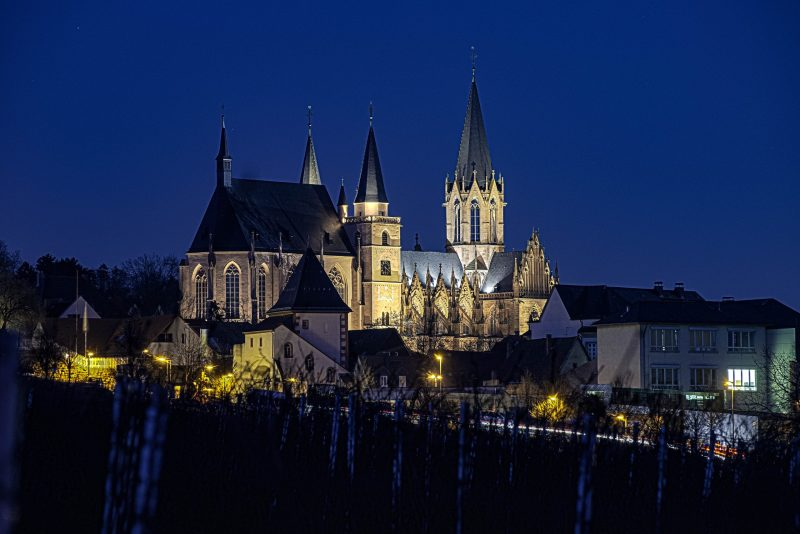 """Stacking mit HDR: Das fertig """"gestapelte"""" Bild der Katharinenkirche. (Foto: Andreas Lerg)"""