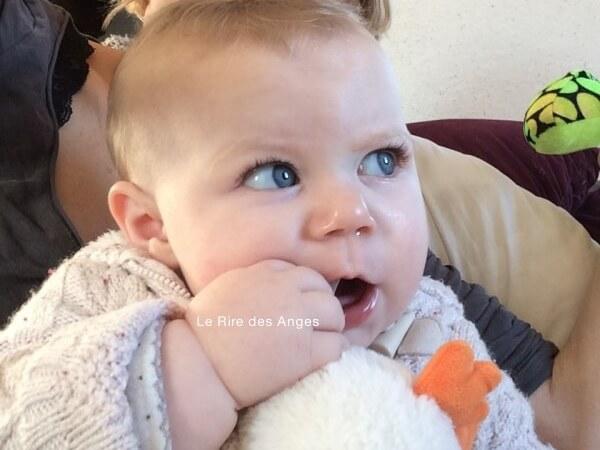 8 mois de ma fille