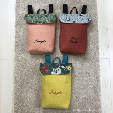 sac a dos maternelle personnalisable