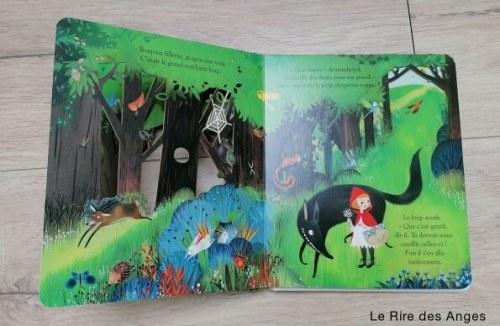 Le petit chaperon rouge histoires de loup enfant