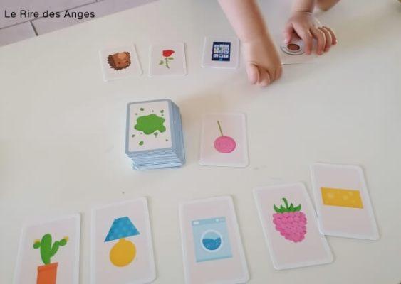 jeux de formes couleurs et 5 sens enfants