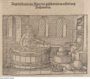 Gewichtsmessung nach Archimedes