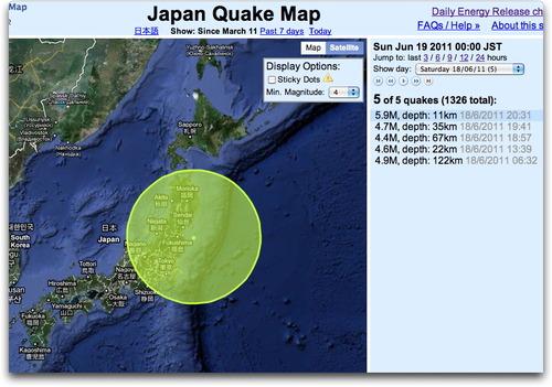 Quakes20110618