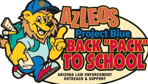 AZLEOS Project Blue - Back Pack to School