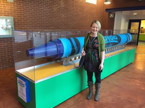 World's Largest Crayola Crayon