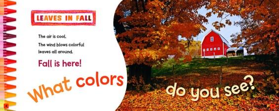 Crayola ® Fall Colors spread