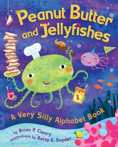 Peanut Butter and Jellyfishes book for National Reading Day 2018