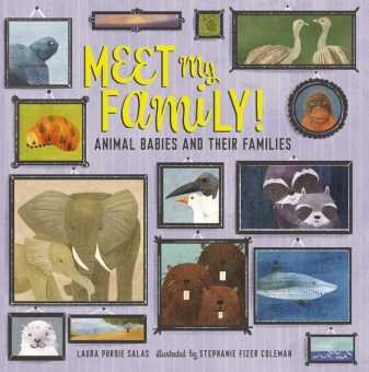 Meet My Family by Laura Purdie Salas