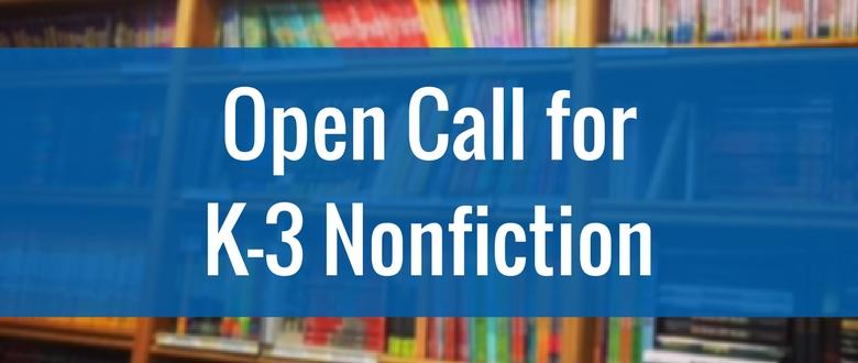 K-3 nonfiction submissions