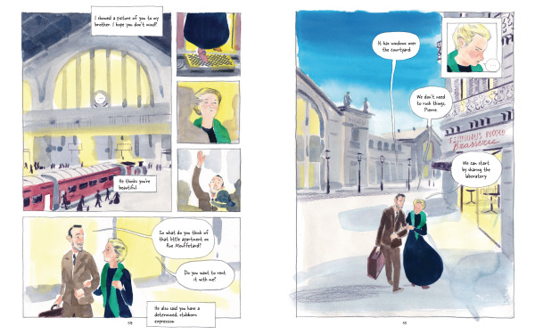 Spread from Marie Curie