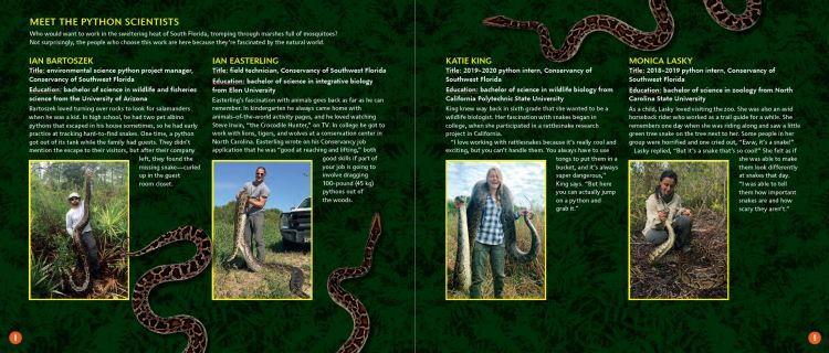 Tracking Pythons p.8