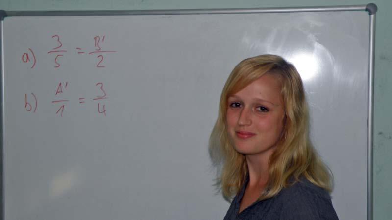 Lisa Marie Strommen, Mathe, Latein und was so anfällt