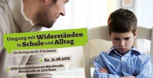 Vortrag von Dr. Jansen - Umgang mit Widerständen in Schule und Alltag