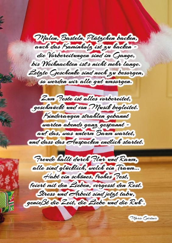 Fröhliche Weihnachten & einen guten Rusch ins neue Jahr!