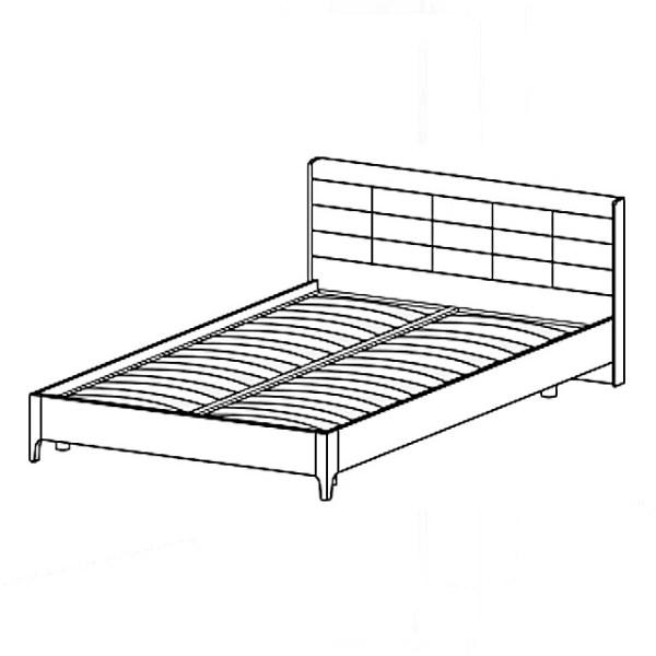 Кровать КР-1071 (1,2*2,0)