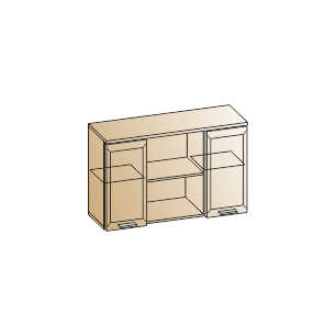 Антресоль АН-2825 - Снежный ясень (СЯ)