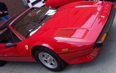 A Ferrari 308GTS.
