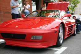 A Ferrari.  Zooom Zoom.. Oh, sorry, thats Mazda.