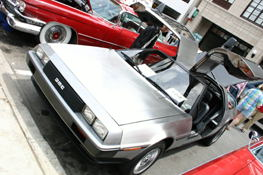A nice DeLorean.