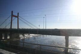 The bridge near Pierrefonds, Qc