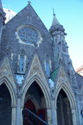 Nope, can't go anywhere in Montreal without tripping over a  church.