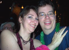The first picture of us in 2004.  Aren't I a lucky guy?