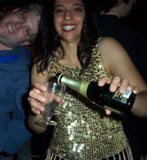 Champagne for everyone!  Its New Years!