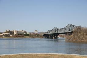 The Museum of Civilization and the Alexandra bridge.