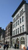 The Ottawa School of Art and a newish condo building.