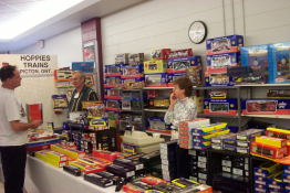Vendors with everything a model railroader could want!