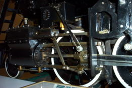 A close-up of the workings of the 1201 model.