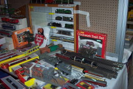 More track, rolling stock, engines and accessories!