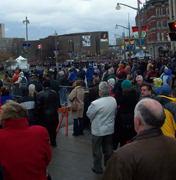 Crowds everywhere!
