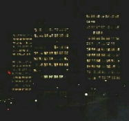 Its Sunday night and I'm fairly sure that there aren't that many  people in the offices at the Department of National Defense.   turn off the lights when you aren't there people!