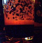 I had a pint of Murphy's Irish Stout.  Tastey!
