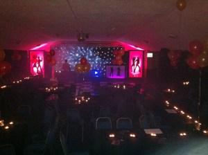Leroy Lurve stage set