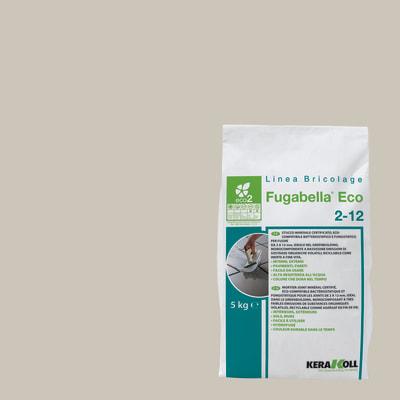 Stucco per fughe in polvere Kerakoll Fugabella Eco 212 grigio chiaro 5 kg prezzi e offerte online  Leroy Merlin