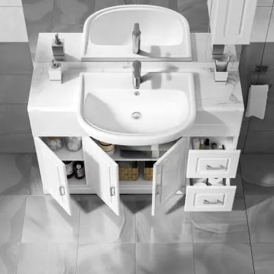 Mobile bagno Paola bianco L 120 cm prezzi e offerte online  Leroy Merlin