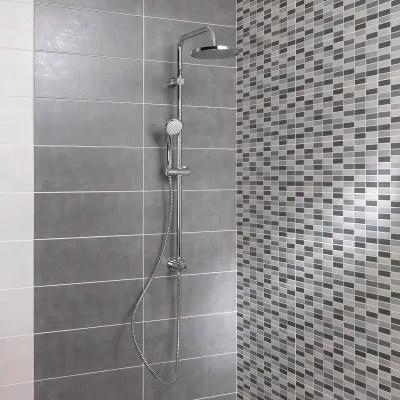 Piastrella Sirio 20 x 50 cm grigio prezzi e offerte online