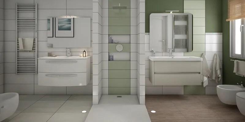 Rifare il bagno dividere lo spazio in due bagni fai da te  Leroy Merlin