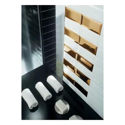 Piastrella Metro 75 x 15 cm bianco prezzi e offerte online