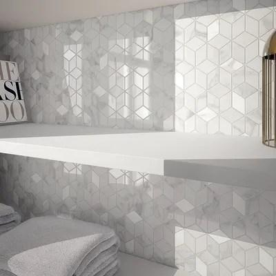 Mosaico Murano 26 x 28 cm bianco prezzi e offerte online  Leroy Merlin