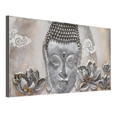 quadro dipinto a mano Buddha 65x150 prezzi e offerte online  Leroy Merlin